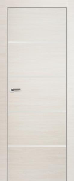 Дверь 20Z ЭшВайт Кроскут, Белый глянец