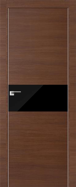 Дверь 4Z Малага Черри Кроскут Черный лак