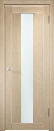 Дверь Сицилия 2 Беленый дуб Стекло матовое