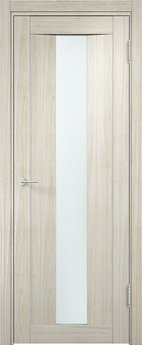 Дверь Сицилия 2 Беленый дуб мелинга Стекло матовое