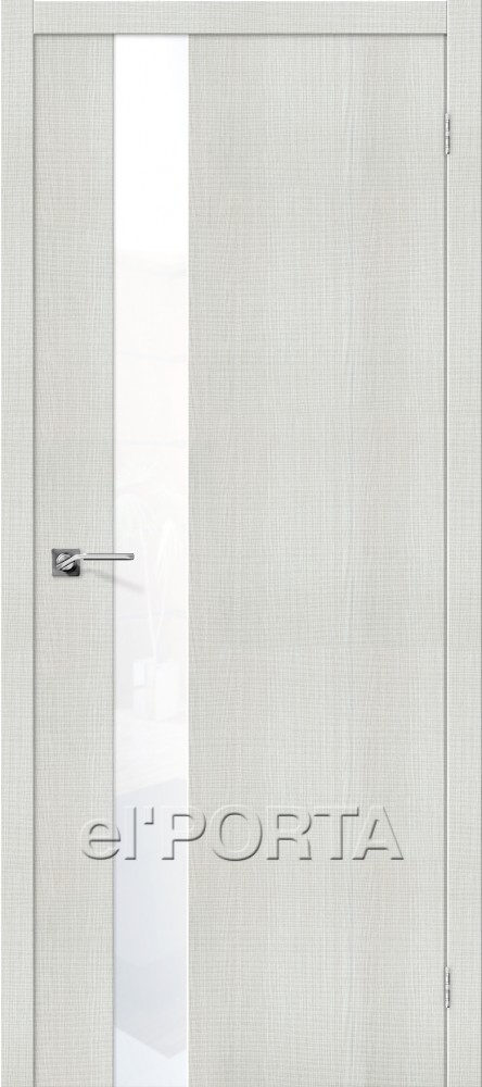 "eko-porta-51-Стекло: Lacobel белый ""White Waltz""-bianco-crosscut"