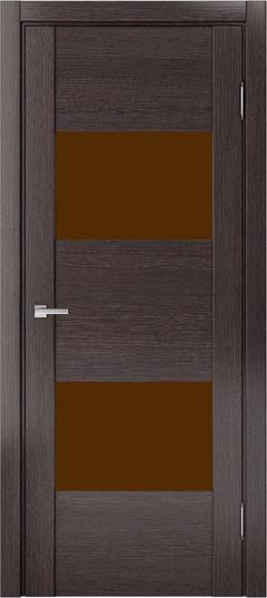 Доминика 221, Дуб серый,лакобель коричневый