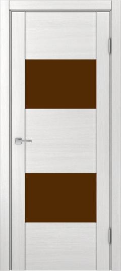 Доминика 221, Ясень белый,лакобель коричневый