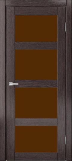 Доминика 224, Дуб серый, Лакобель-лакомат коричневый