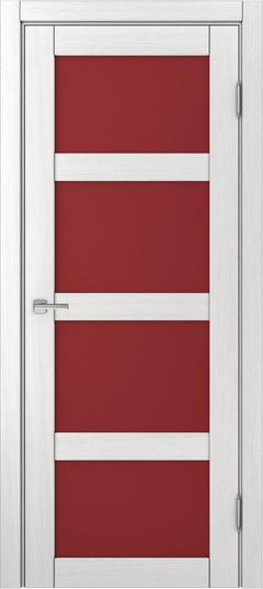 Доминика 224, Ясень белый, Лакобель-лакомат красный