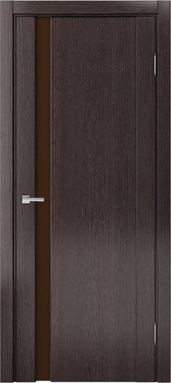 Доминика 225, Дуб серый, лакобель коричневый