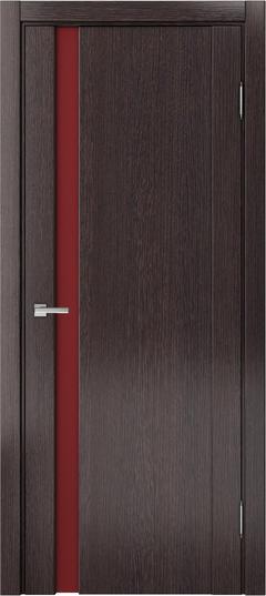 Доминика 225, Дуб серый, лакобель красный