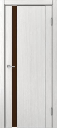 Доминика 225, Ясень белый, лакобель коричневый