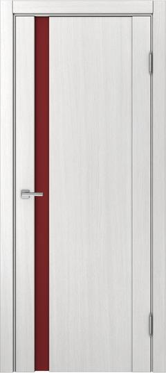 Доминика 225, Ясень белый, лакобель красный