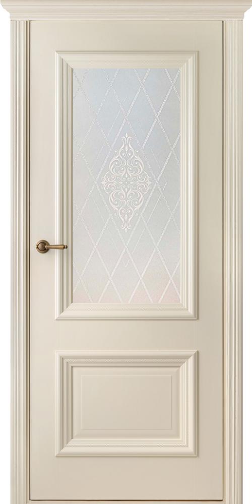Франческа Эмаль, ДО, Слоновая кость- резной декор,наличник Карниз, Мателюкс белый кристалайз, рис. 34