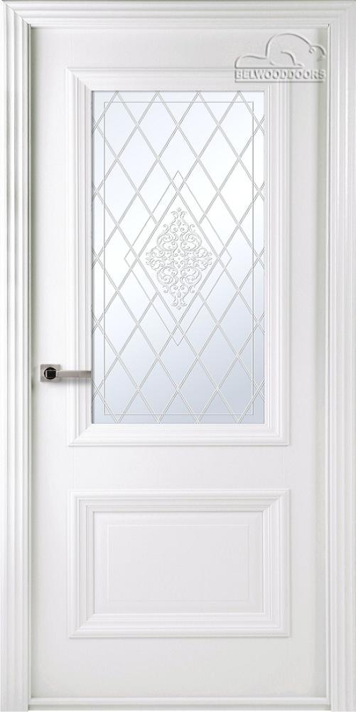 Франческа Эмаль, ДО,Белый, наличник Стандарт, Мателюкс белый кристалайз, рис. 34