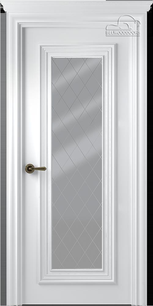 Палаццо 1, ДО, Белый, наличник Карниз, Мателюкс белый витражный, рис.39
