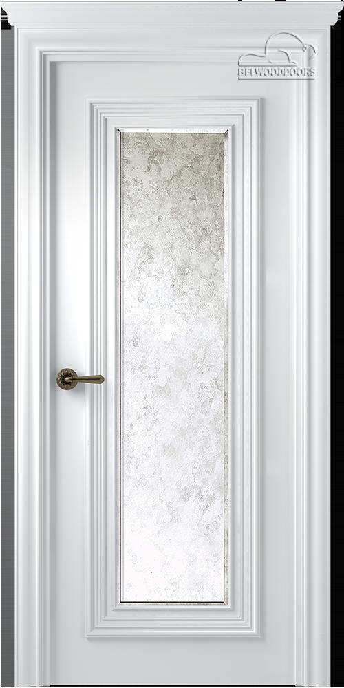 Палаццо 1, ДГ, Белый с зеркалом Mirold Morena