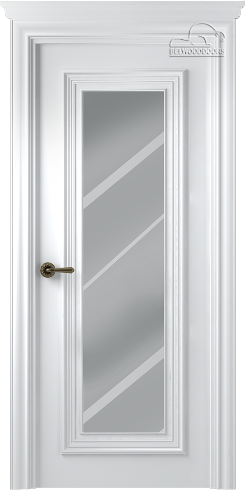 Палаццо 1, ДГ, Белый с зеркалом