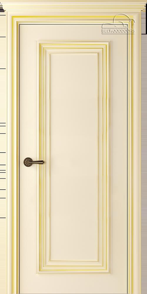 Палаццо 1, ДГ, Слоновая кость/Патина золото