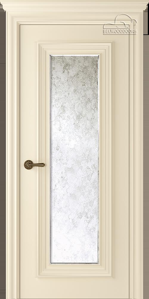 Палаццо 1, ДГ, Слоновая кость с зеркалом Mirold Morena