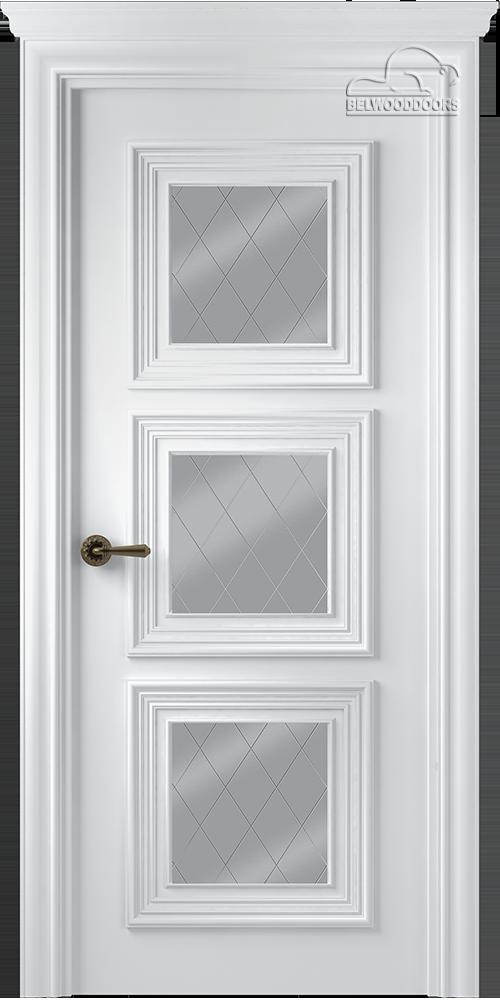 Палаццо 3, ДО, Белый, Мателюкс белый витражный, рис. 39