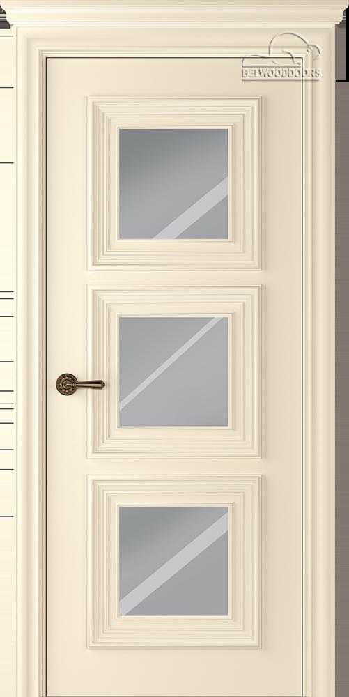 Палаццо 3, ДГ, слоновая кость с зеркалом