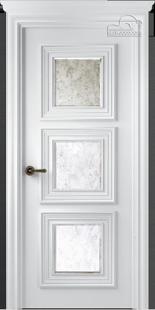 Палаццо 3, ДГ, Белый с зеркалом Mirold Morena