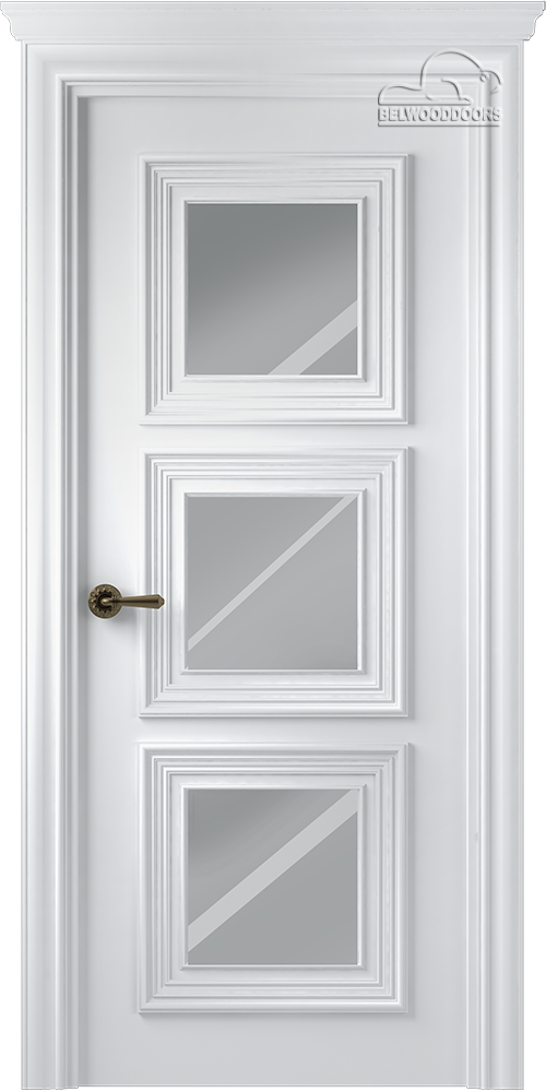 Палаццо 3, ДГ, Белый с зеркалом