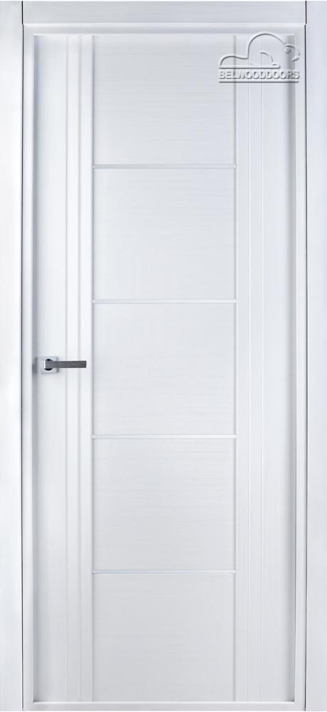 Select 02, ДО, Бьянко нобиле, наличник Стандарт, Мателюкс белый