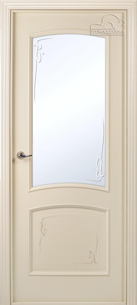 Сорренто Эмаль, ДО, Слоновая кость, наличник Стандарт, Мателюкс белый кристалайз, рис. 33