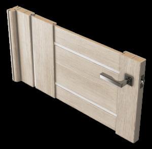 Дверь в разрезе
