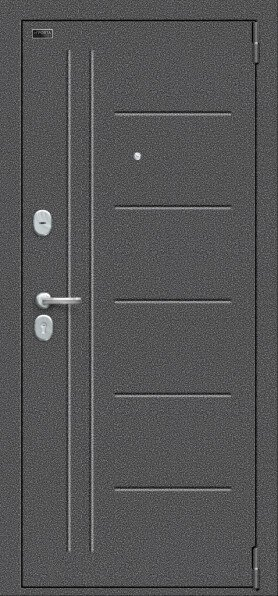Porta S-2 109.П29 Антик Серебро-Wenge Veralinga наружная сторона