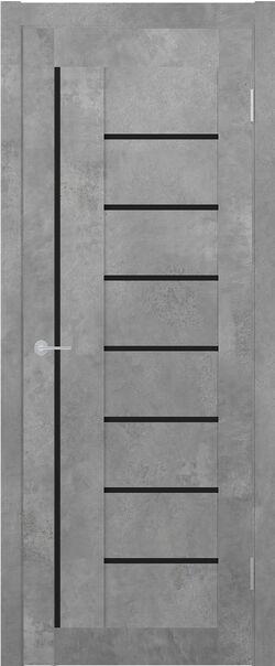 ST 3 бетон светлый Lacobel чёрный лак