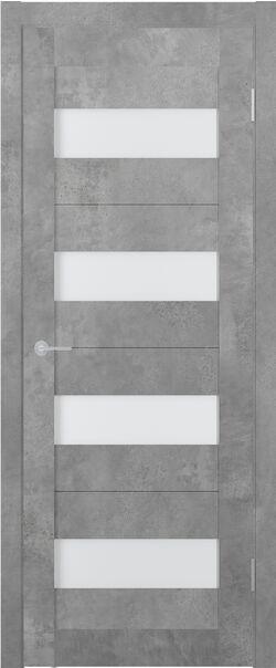 ST2 ДО бетон светлый стекло матовое Мателюкс