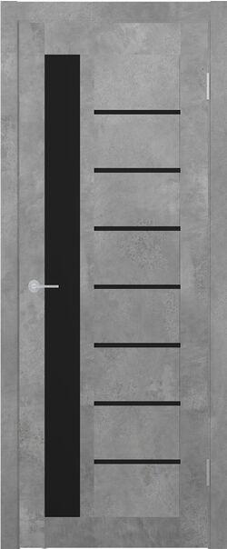 ST4 бетон светлый Lacobel чёрный лак