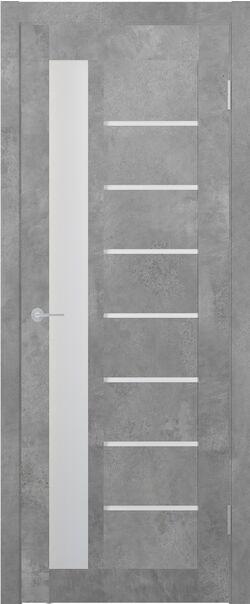 ST4 бетон светлый стекло матовое Мателюкс