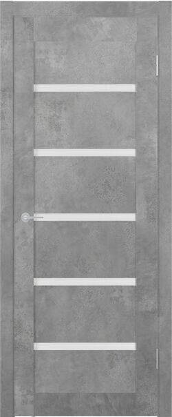 ST8 бетон светлый стекло матовое Мателюкс