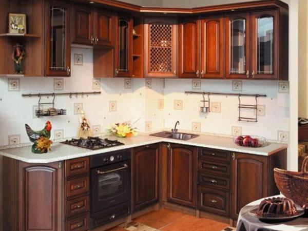 Кухня из массива 3