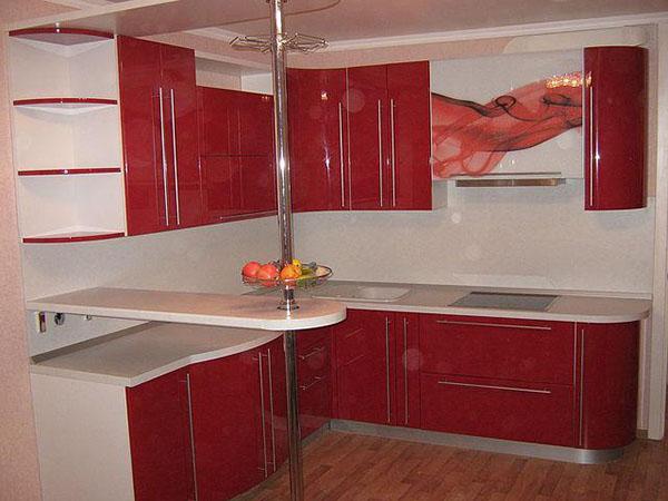 Кухня из МДФ (ПВХ) 3