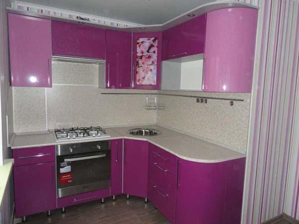 Кухня из МДФ (ПВХ) 5